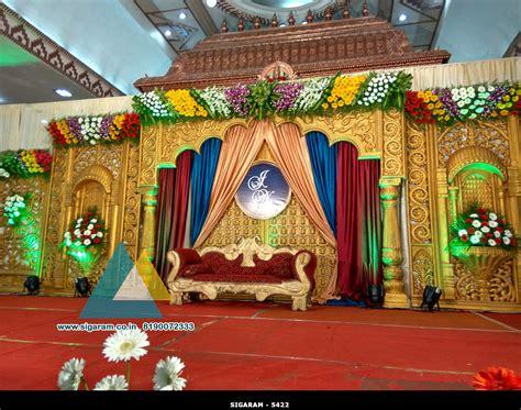 pictures decoration wedding stage decoration jayaram thirumana nilayam