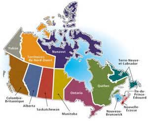 canada province maps canada carte provinces