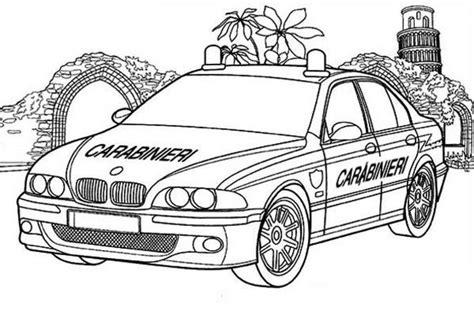 coloring sheets police cars online printable carabinieri cop car coloring page auto