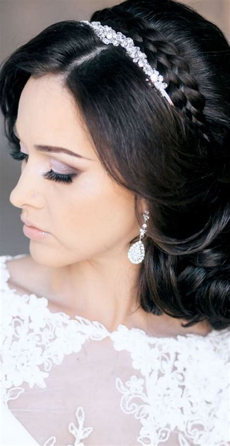 Black Wedding Hairstyles With Tiara by Wedding Hairstyle With Tiara