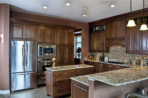 yellow kitchen paint ideas spacious modern kitchen design my own house with bar stools source