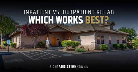 Inpatient Opiate Detox by Inpatient Vs Outpatient Addiction Treatment Which Is