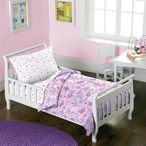 dream factory stars crowns  piece toddler bed   bag
