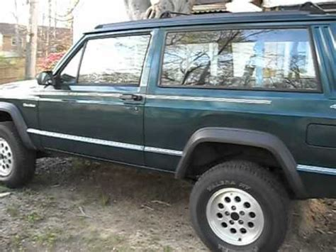 jeep cherokee sport  doormanual  lift