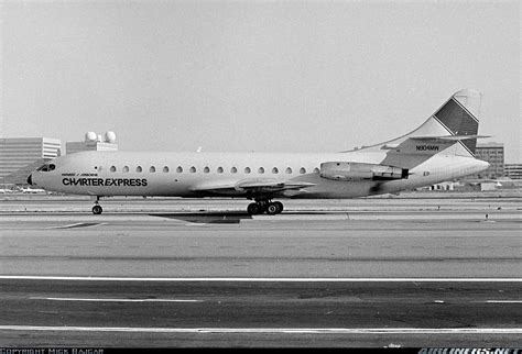 sud se 210 caravelle vi r midwest air charter airborne freight aviation photo 1002432