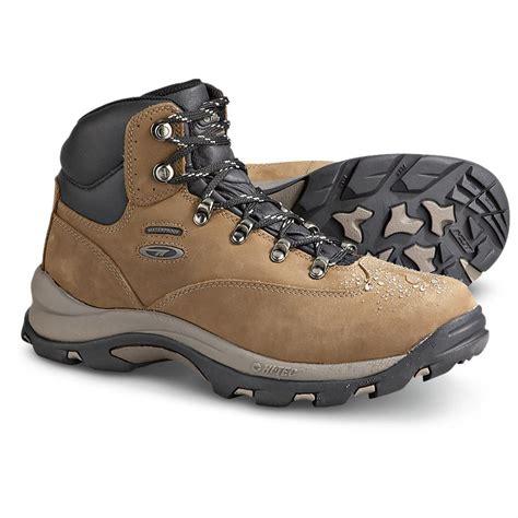 s hi tec 174 waterproof altitude hiking boots smoky