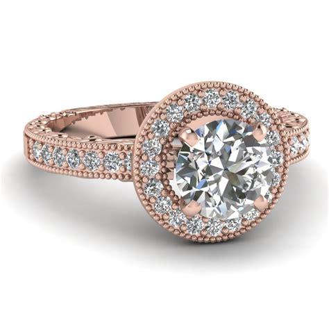 milgrain hand engraved diamond wedding band in 14k white