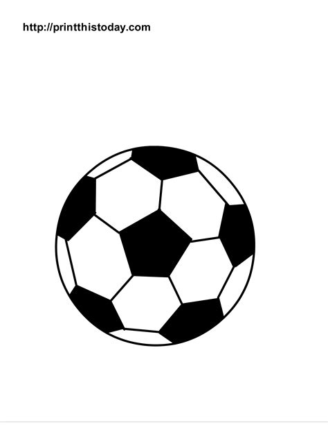 free printable sports balls coloring pages