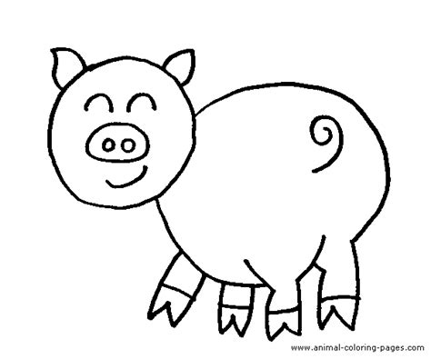 coloring page of a pig pig coloring pages coloring pages