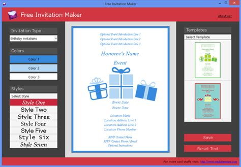 free invitation maker - Free Invitation Maker