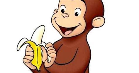 film kartun gajah dan monyet mewarnai gambar tokoh kartun curious george si monyet