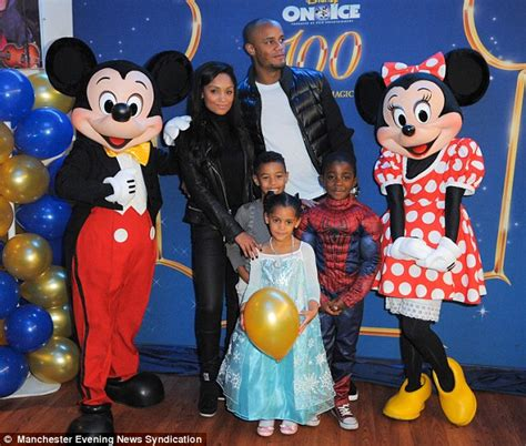 St Vincent Disneys Mickey Meets The Captain Of The Guard Ms 2 vincent kompany attends disney on with city team