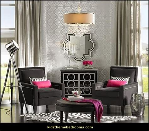 hollywood themed bedrooms luxe room decor hollywood style decorating glamour