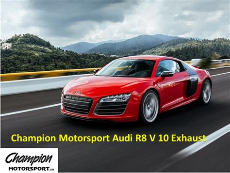 Audi R8 Auspuff by Audi R8 Exhaust Replacement And Installation Blog For