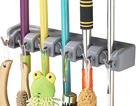Rack To Hang Brooms And Mops by Dadotool Mop Broom Tool Sports Equipment Holder