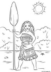 Print Princess Moana Disney Coloring Pages Design Kids sketch template