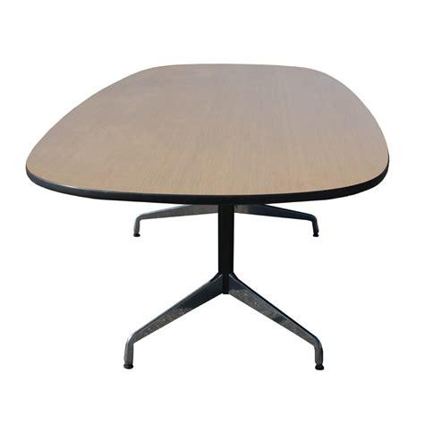 Herman Miller Conference Table 10ft Vintage Oak Herman Miller Eames Conference Table Ebay