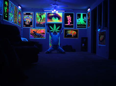 Blacklight Bedroom Decor by Blacklight Room Rick Dierks Flickr