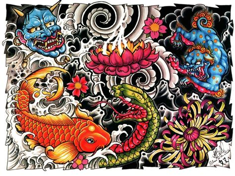 yakuza tattoo flash tattoo designs tattoos pinterest pictures tattoo