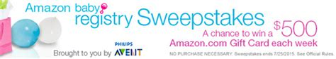 Amazon Baby Registry Sweepstakes - rise and shine april 7 paint colors grocery ads feedback wanted toms shoe sale more