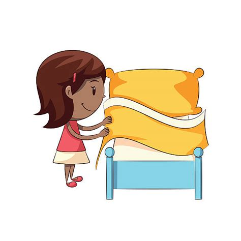 make bed clipart room clipart tidy bedroom pencil and in color room