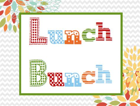 lunch bench show kids you care lunch bunch
