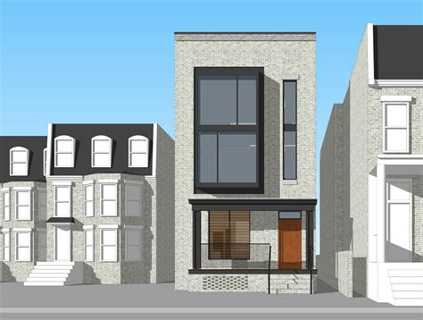 Modern Row House | modern row houses plans joy studio design gallery best