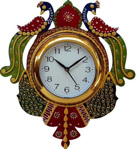 Home Decor Online India by Divinecrafts Analog Wall Clock Price In India Buy