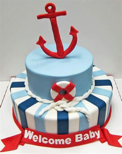 Baby Shower Cakes Nautical Theme by Nautical Theme Baby Shower Cake Babyyy Stuff