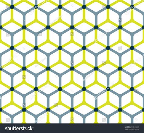 pattern for a cube shape abstract cube pattern editable vector format stock vector