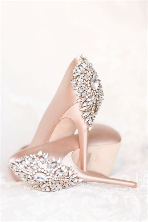Blush Bridal Heels by Best 25 Pink Wedding Shoes Ideas On Awesome