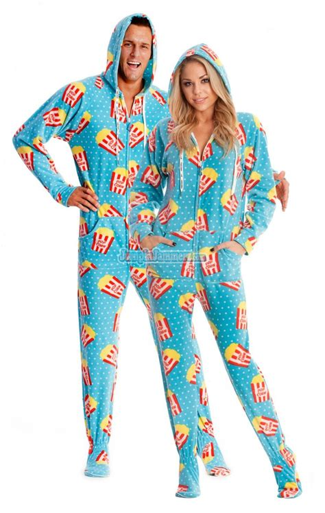 Padang Fc Home Pjs footed hooded pajamas these pajamas will let you enjoy any in the