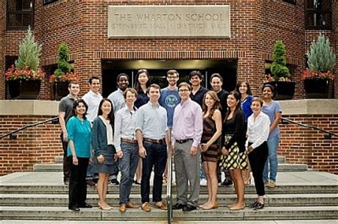 Wharton Mba Out Of Undergrad by Phd Program Management Department