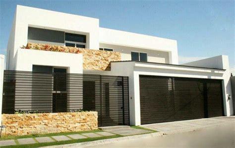 imagenes rejas minimalistas frentes de casas con rejas horizontales