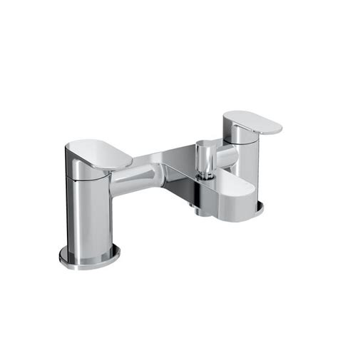 Plumb Centre Showers by Bristan Frenzy Bath Shower Mixer Tap Chrome Plumb Center