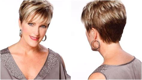 printable short hairstyles for women over 50 haircuts for 50 year old woman with a round face