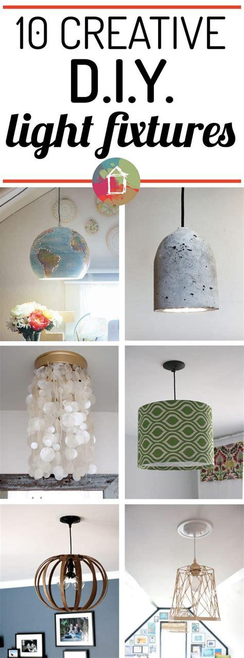diy glass pendant light fixture knockoff ugly duckling 10 creative diy light fixtures that won t break the bank