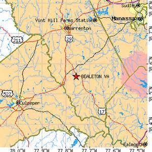 bealeton virginia va population data races housing