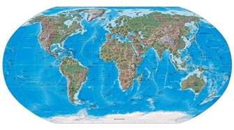 Big Map Of The World by Large Detailed Political And Relief Map Of The World