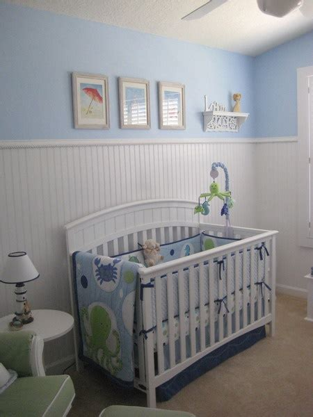 Nursery With Wainscoting by Creative Bead Board Use In Rooms Design Dazzle