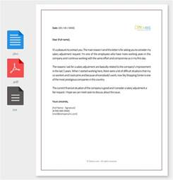 Pay Raise Letter Subject Salary Increment Letter 14 Best Printable Sles And Formats