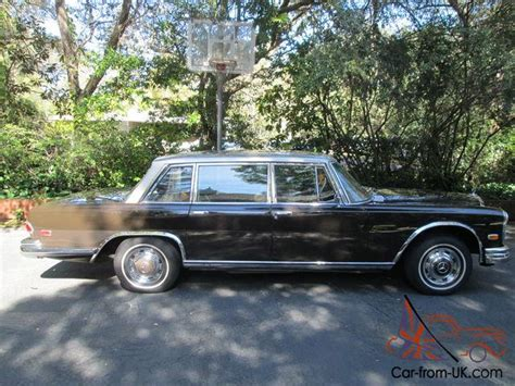 working for mercedes uk 1967 mercedes 600 swb town sedan owned since 1981 all