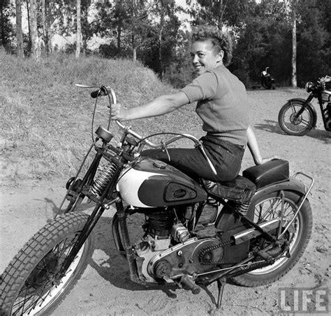 bike girls fascinating   female motorcyclists     loomis dean