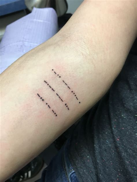 morse code tattoo 25 best ideas about morse code on