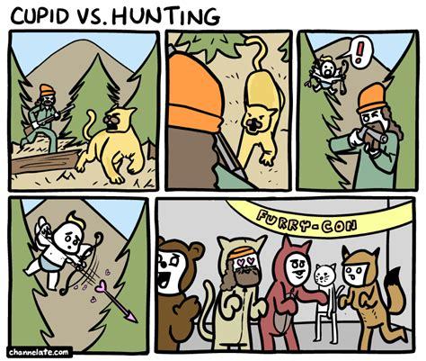 cupid vshumtlng channelate hunter cupid