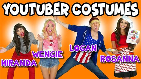 Backyard Adventures Treehouse Diy Youtuber Costumes For Halloween Jojo Siwa Wengie