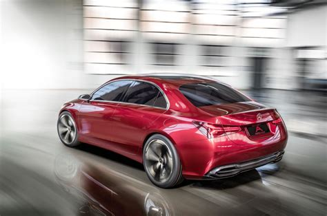 Future Mercedes Models by Mercedes 2018 A Class Concept A Sedan Shanghai Show