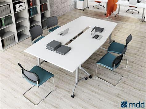 Folding Office Desk Ogi Folding Office Desk By Mdd