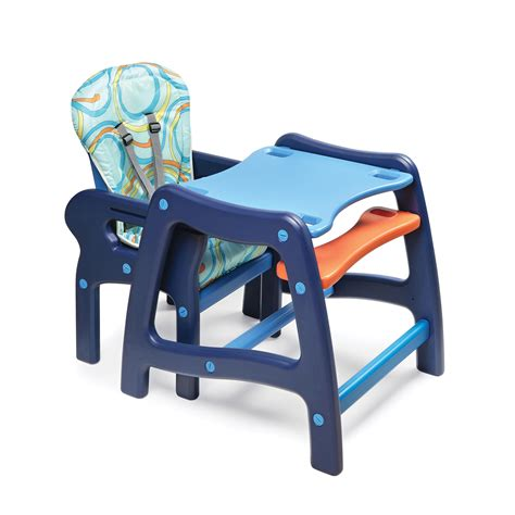 Table High Chair by Badger Basket Envee Baby High Chair With Playtable