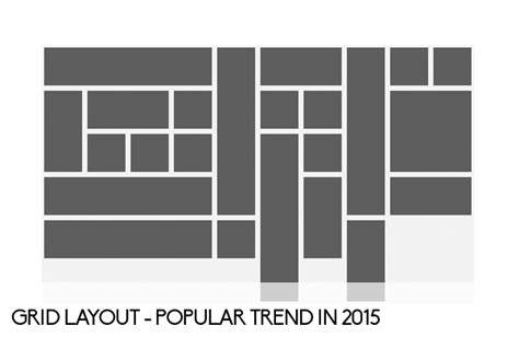grid layout photo gallery graphic design trends fading in 2015 articles graphic